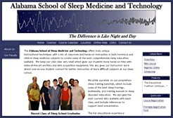 Visit the Alabama School of Sleep Medicine and Technology Total User Control Web Site
