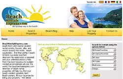 Beach Rentals Express Property Search Site