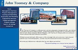 Online Realty Database Application: John Toomey Company