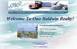 webRealtor Dynmaic Real Estate Listings: Ono Baldwin Realty